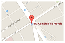 Mapa Brick DC